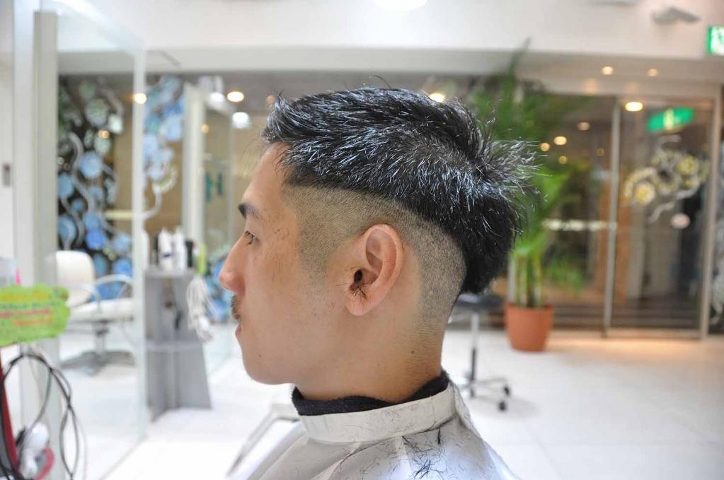スキンフェード,ヒップスター,髪型