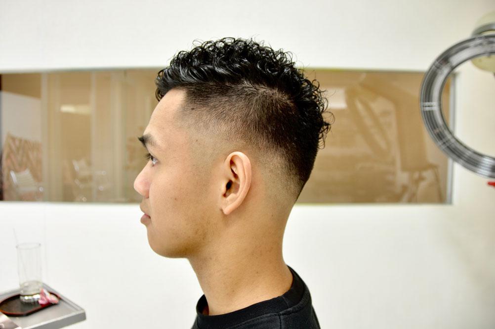 スキンフェード, barber ,パーマ