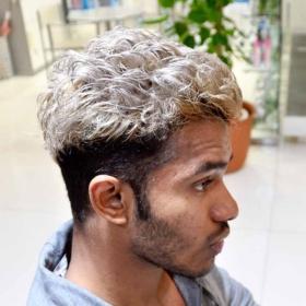 ゼイン,髪型,ヘアカラー