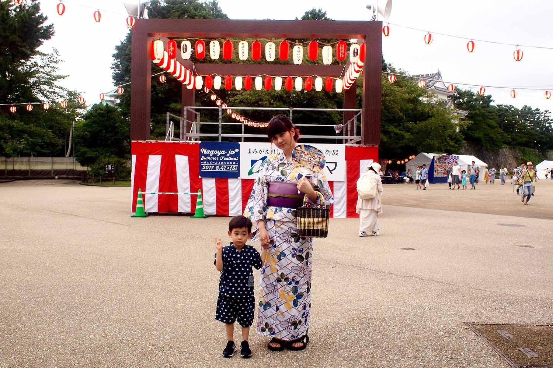 名古屋城祭り,夏まつり,名古屋城
