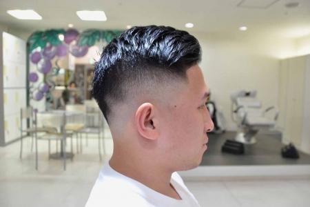 スキンフェード,barber,アメリカンヘア