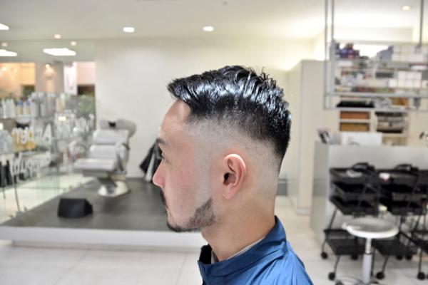 スキンフェード, barber ,ポマード