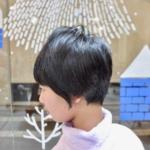 短くても女の子らしさのある、ショートヘア。