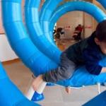 春休みの愛知児童総合センター。