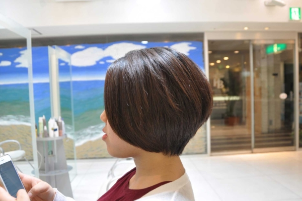 ショートヘア,ボブ,くせ毛