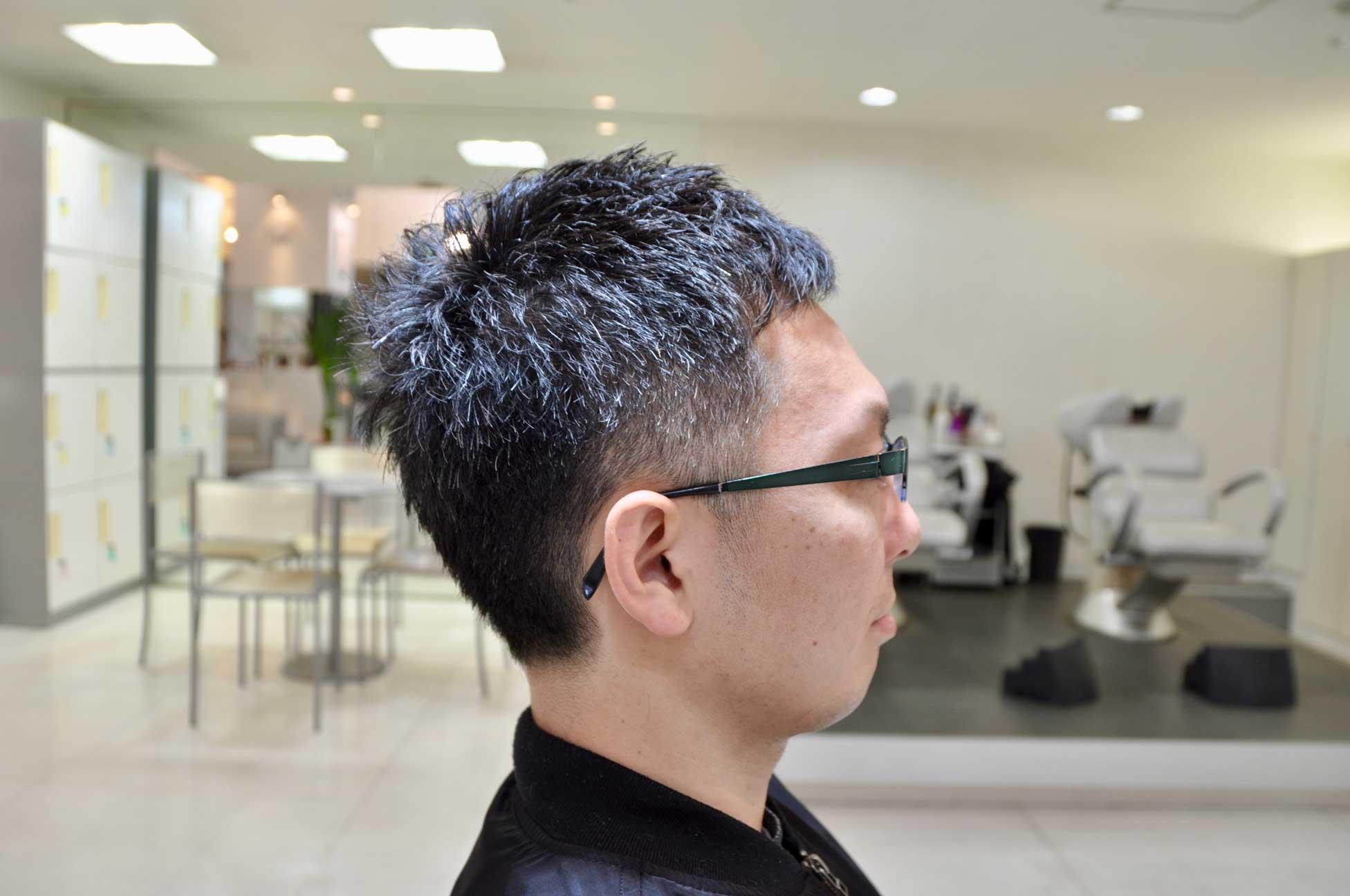 メンズヘア,刈り上げ,ツーブロック