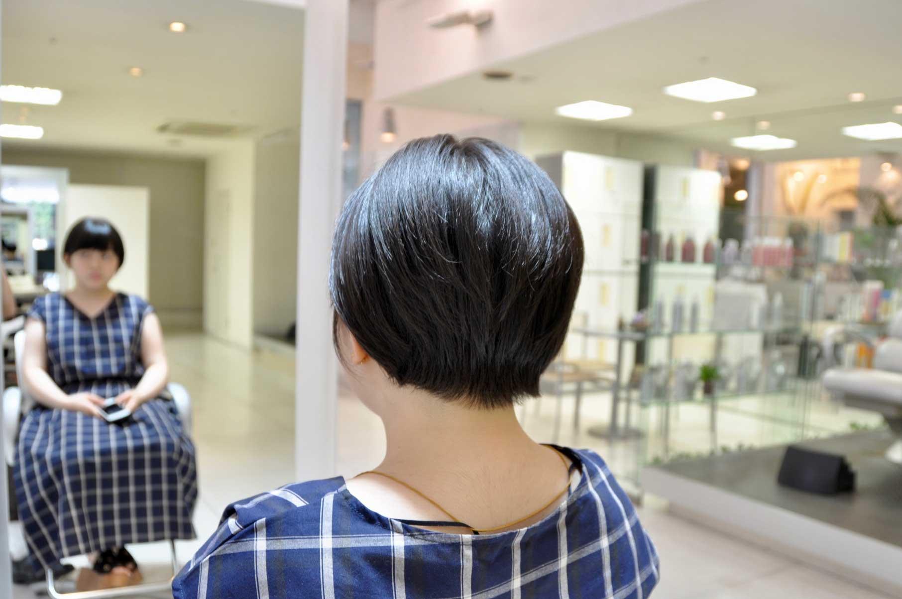 くせ毛,多毛,ショートヘア